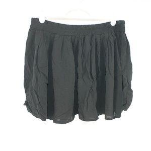 Brandy Melville One Size Black Mini Skirt